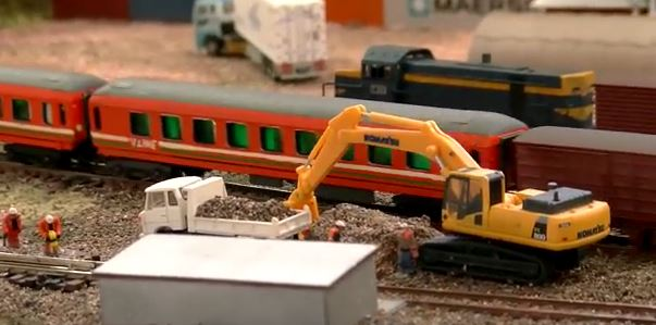 model railways track work