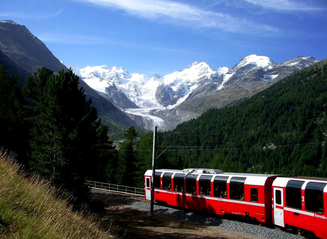 Bernina Exress Railway