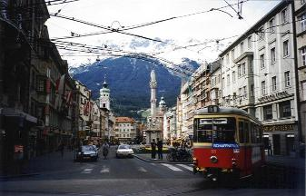 Europe Innsbruck Australia rail travel