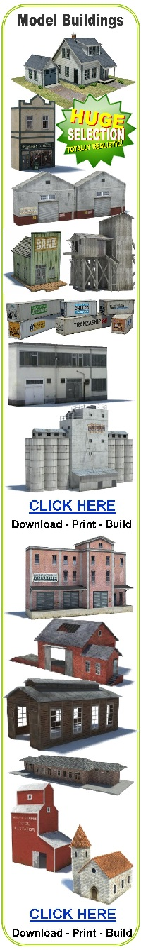 buildings scale models