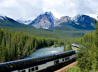 canadian rockies rail tours