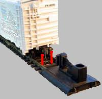 couplers model railroad bumpers