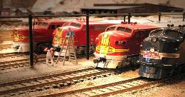 4 diesel model trains ho scale